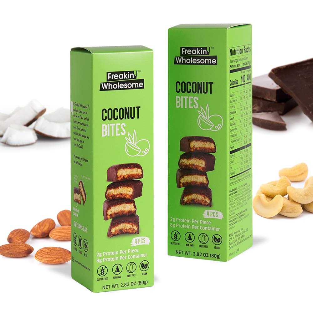 coconut butter protein bites