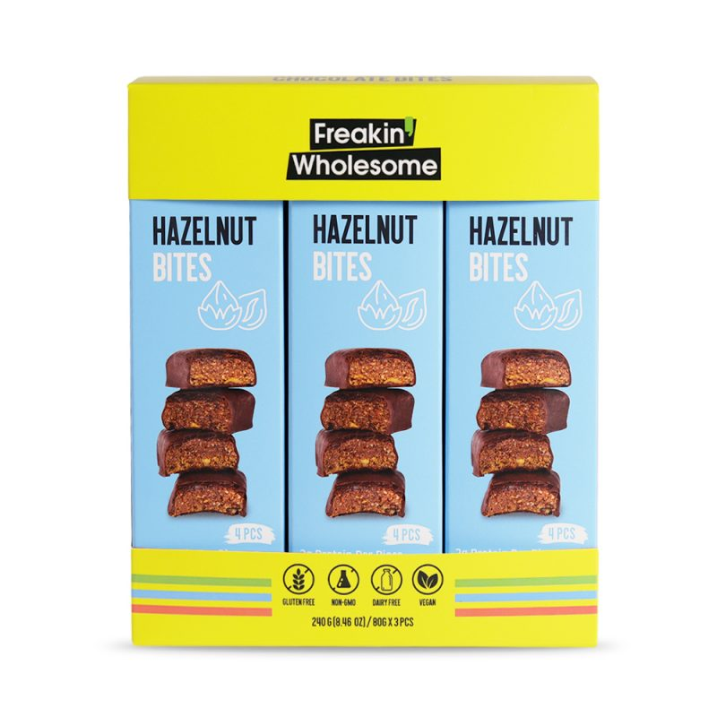 Hazelnut Bites snacks