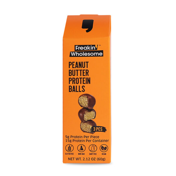 chocolate and peanut butter balls